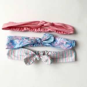 Carter fabric headbands EUC think these are 0-6m